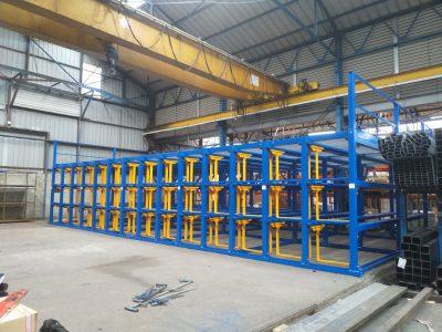 Langprofil-Lagersystem für Stahl